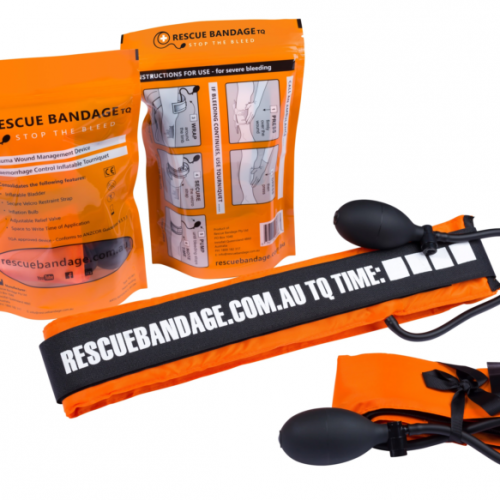 rescue bandage tq inflatable tourniquet Australia