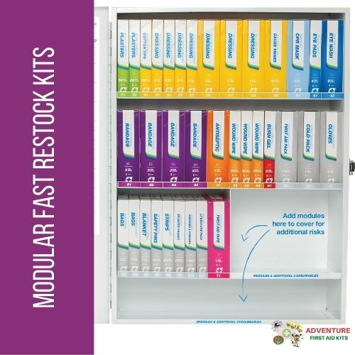 Modular First Aid Kits & Restocking