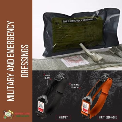 Firstcare Military & Civilian Emergency Bandages